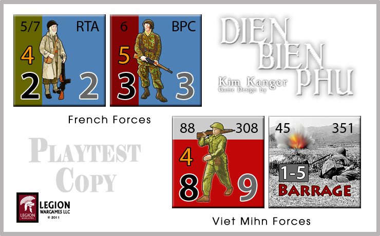 Dien Bien Phu (Legion Wargames) DBPcounters